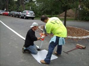 Sewer pipe lining repair