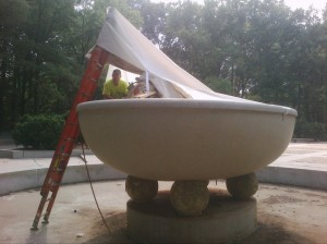 fountain-pipe-lining