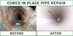 pipe relining before and after
