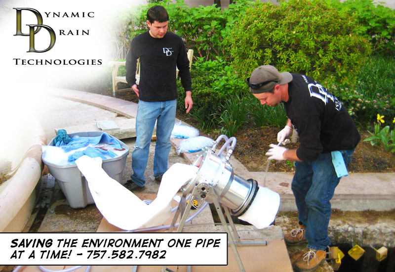 Dynamic Drain cured In Place Pipe Lining Alexandria Virginia