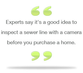 Sewer Inspection before home purchase