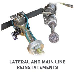 robotic cutters for mainline reinstatements