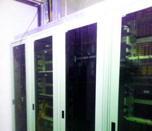 no dig, non destructive perma liner installations under expensive server stations