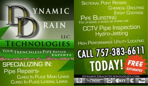 Pipe repairs, cured in place main lining lateral pipe bursting pipe inspections hydro jetting