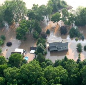 Pipe Repair During Floods Causes Hazards