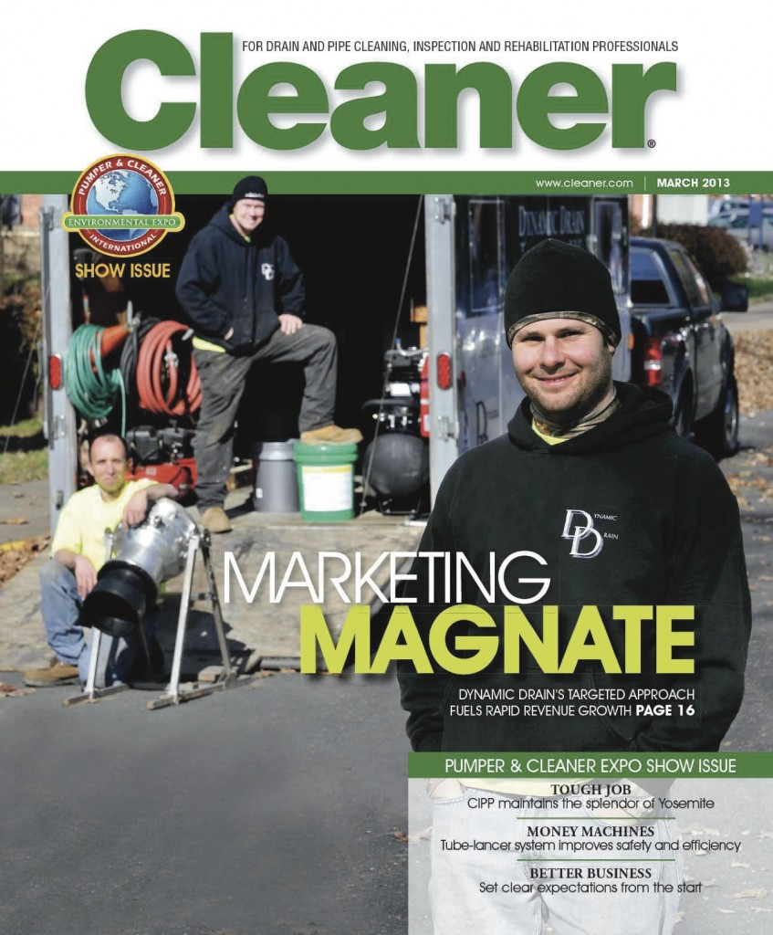 Nick Santoni Feature on the Cover of Cleaner Magazine