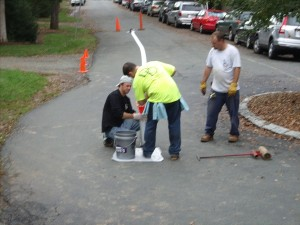 Pipe Lining at University of Virginia