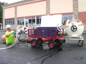 Pipe Repair at CVS in Virginia Beach
