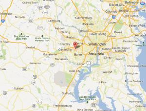 Pipe Repair Northern VA Map