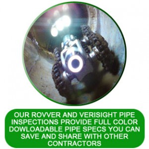 pipe inspections for sewer and drains