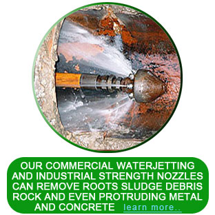 commercial water jetting nozzle