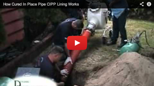 How cured in place pipe cipp lining works video image