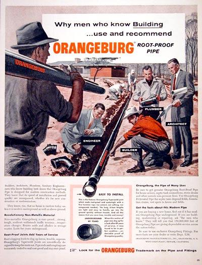 Old Orangeburg Pipe Ad